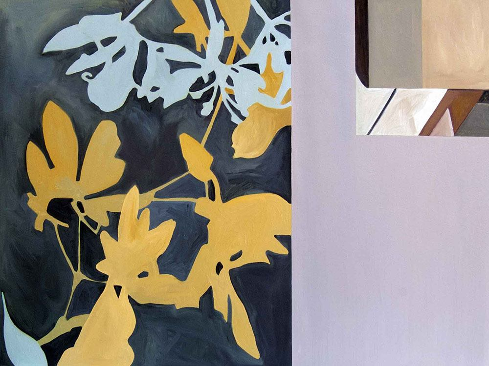 Abstract Painting by Richelle Cripe: Diptych #5