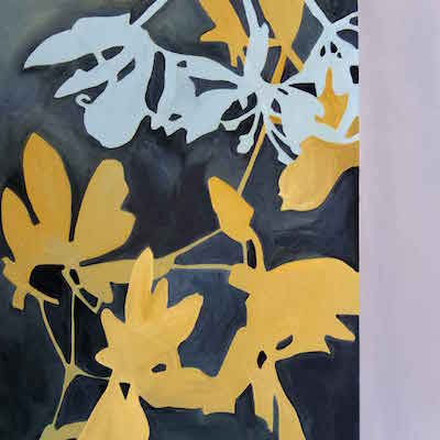 Richelle Cripe Painting: Diptych #5